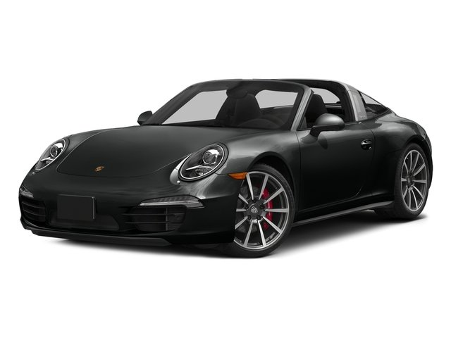Jet Black Metallic 2016 Porsche 911 Pictures 911 Coupe 2D 4 Targa AWD photos front view