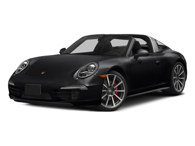 Black 2016 Porsche 911 Pictures 911 Coupe 2D 4S Targa AWD photos front view