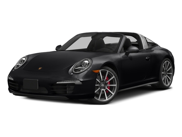 Black 2016 Porsche 911 Pictures 911 Coupe 2D 4 Targa AWD photos front view