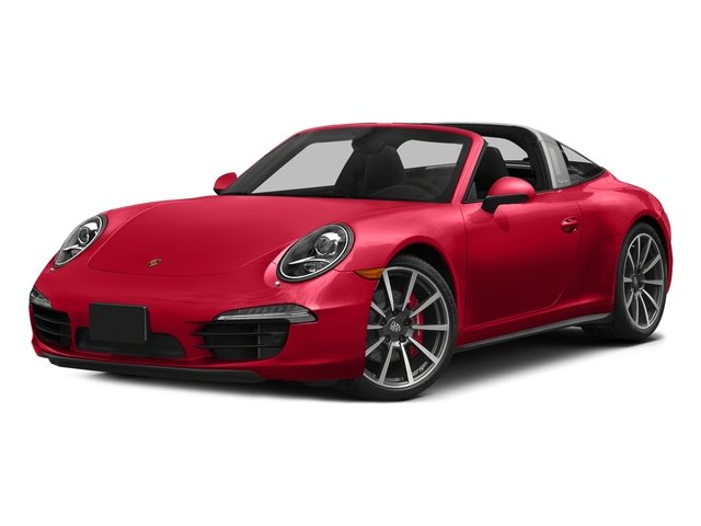 Guards Red 2016 Porsche 911 Pictures 911 Coupe 2D 4 Targa AWD photos front view
