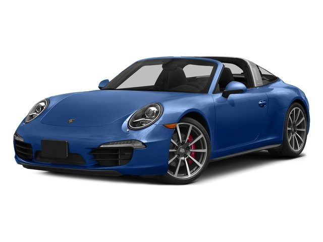Sapphire Blue Metallic 2016 Porsche 911 Pictures 911 Coupe 2D 4 Targa AWD photos front view