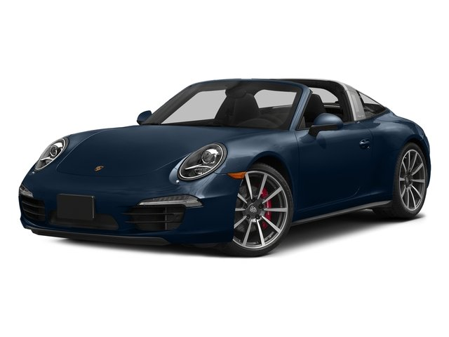 Dark Blue Metallic 2016 Porsche 911 Pictures 911 Coupe 2D 4 GTS Targa AWD H6 photos front view