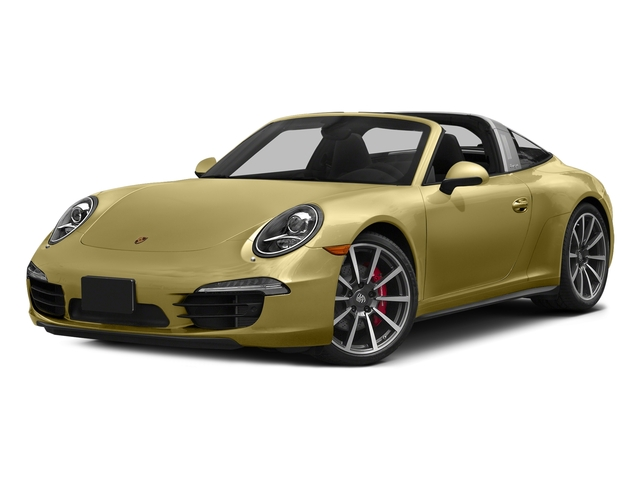 Lime Gold Metallic 2016 Porsche 911 Pictures 911 Coupe 2D 4S Targa AWD photos front view