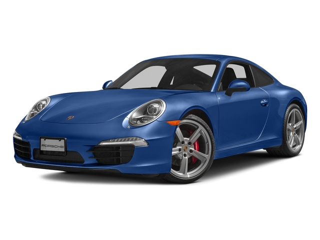 Sapphire Blue Metallic 2016 Porsche 911 Pictures 911 Coupe 2D S H6 photos front view