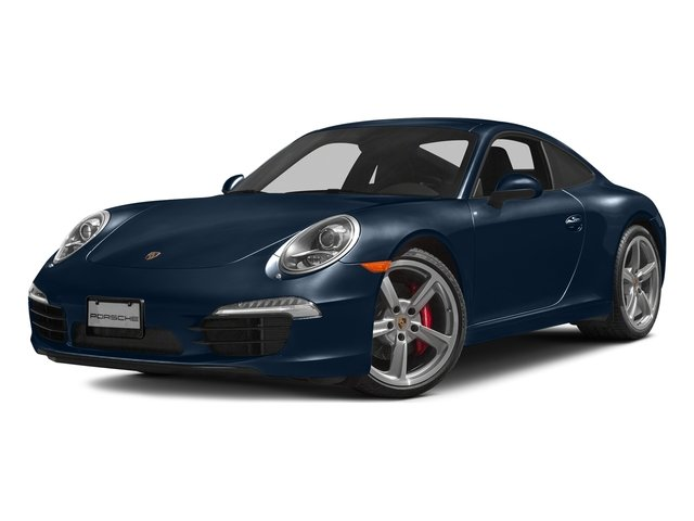 Dark Blue Metallic 2016 Porsche 911 Pictures 911 Coupe 2D S H6 photos front view
