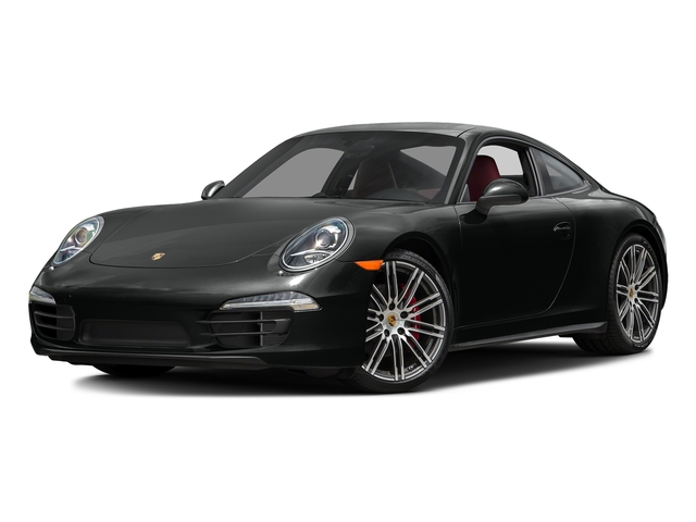 Jet Black Metallic 2016 Porsche 911 Pictures 911 Coupe 2D 4 Black Edition AWD H6 photos front view