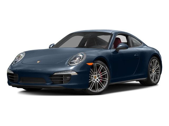 Dark Blue Metallic 2016 Porsche 911 Pictures 911 Coupe 2D 4S AWD H6 photos front view