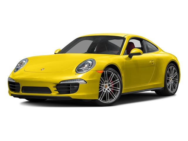 Racing Yellow 2016 Porsche 911 Pictures 911 Coupe 2D 4S AWD H6 photos front view