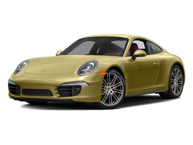 Lime Gold Metallic 2016 Porsche 911 Pictures 911 Coupe 2D 4S AWD H6 photos front view