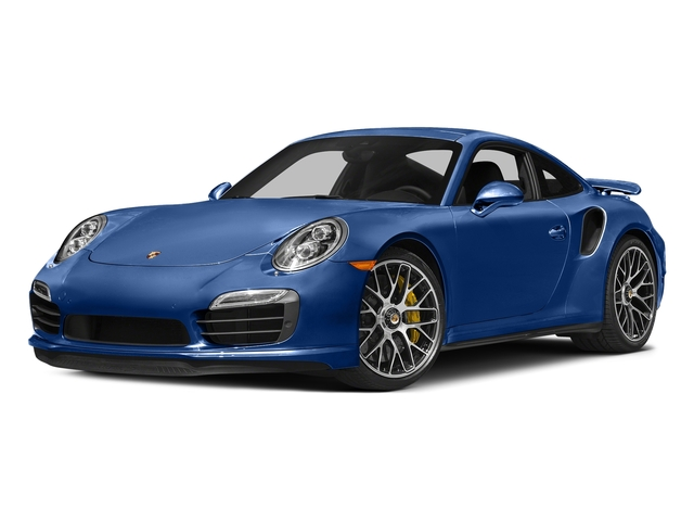 Sapphire Blue Metallic 2016 Porsche 911 Pictures 911 Coupe 2D Turbo AWD H6 photos front view