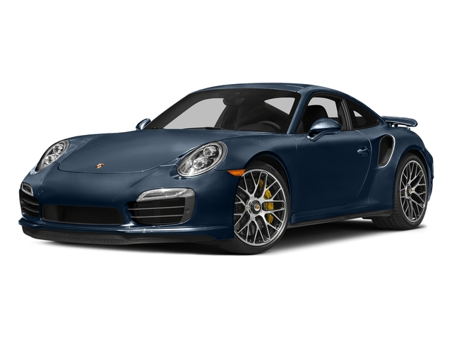 Dark Blue Metallic 2016 Porsche 911 Pictures 911 Coupe 2D Turbo AWD H6 photos front view