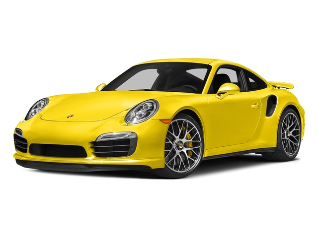 Racing Yellow 2016 Porsche 911 Pictures 911 Coupe 2D Turbo AWD H6 photos front view