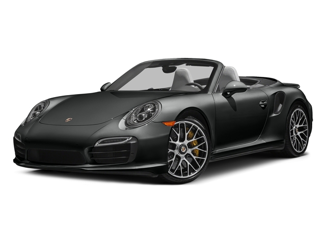 Jet Black Metallic 2016 Porsche 911 Pictures 911 Cabriolet 2D AWD H6 Turbo photos front view