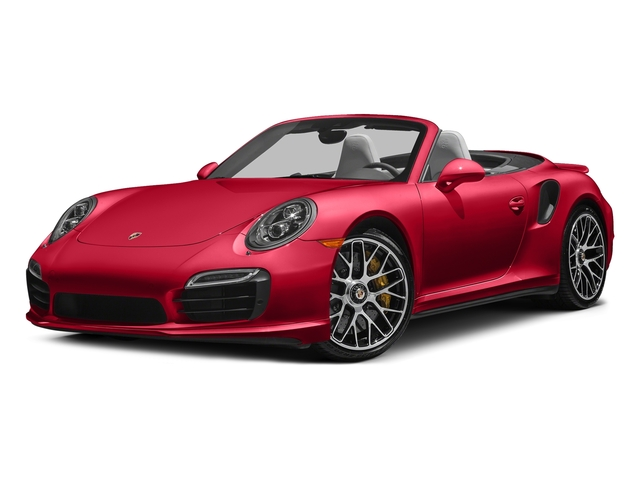 Guards Red 2016 Porsche 911 Pictures 911 Cabriolet 2D AWD H6 Turbo photos front view