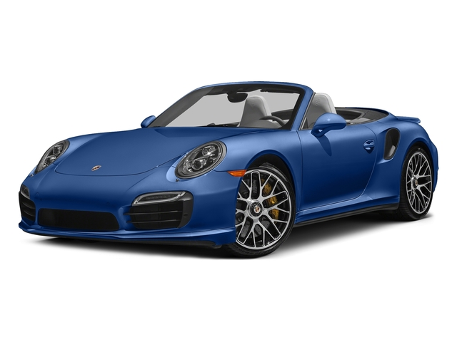 Sapphire Blue Metallic 2016 Porsche 911 Pictures 911 Cabriolet 2D AWD H6 Turbo photos front view