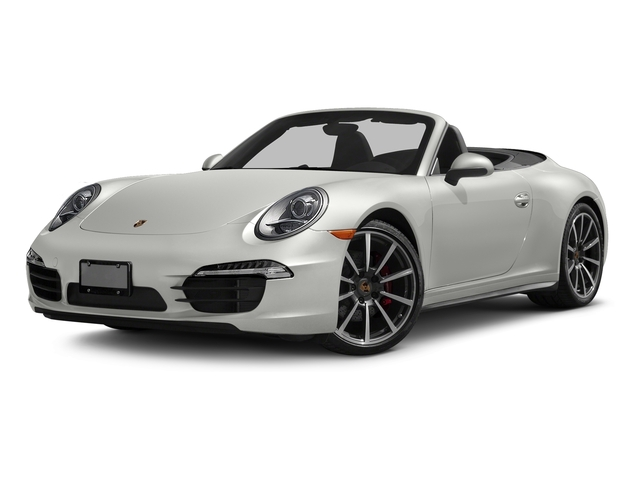 White 2016 Porsche 911 Pictures 911 Cabriolet 2D 4S AWD H6 photos front view