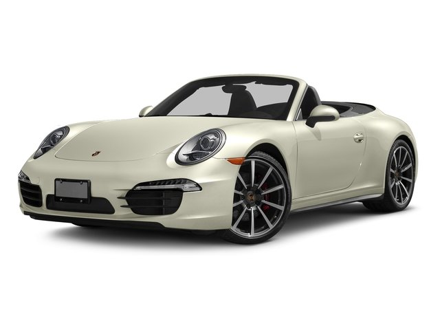 Carrera White Metallic 2016 Porsche 911 Pictures 911 Cabriolet 2D 4S AWD H6 photos front view