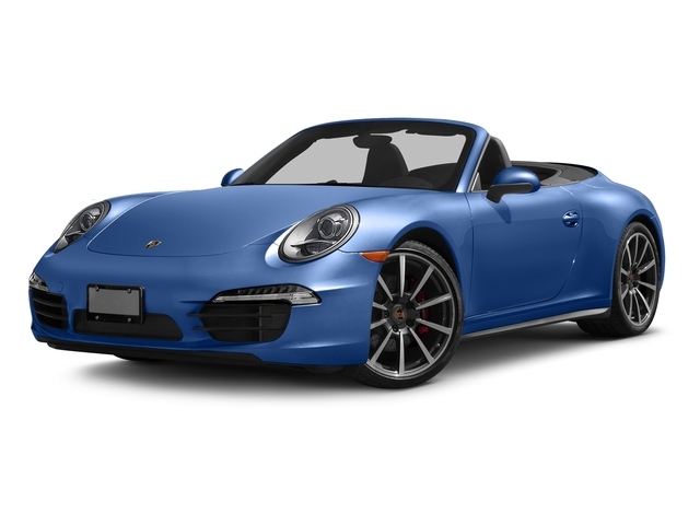 Sapphire Blue Metallic 2016 Porsche 911 Pictures 911 Cabriolet 2D 4S AWD H6 photos front view