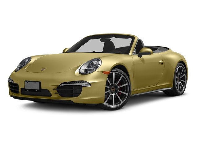 Lime Gold Metallic 2016 Porsche 911 Pictures 911 Cabriolet 2D 4S AWD H6 photos front view