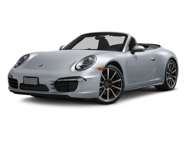 Rhodium Silver Metallic 2016 Porsche 911 Pictures 911 Cabriolet 2D 4S AWD H6 photos front view