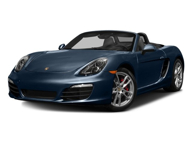 Dark Blue Metallic 2016 Porsche Boxster Pictures Boxster Roadster 2D GTS H6 photos front view