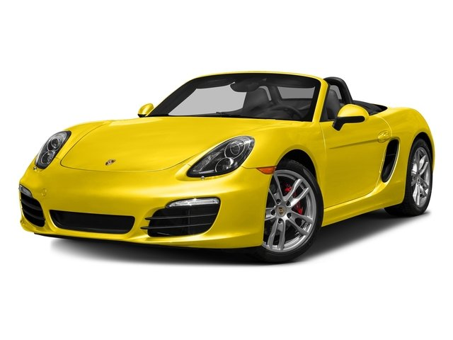 Racing Yellow 2016 Porsche Boxster Pictures Boxster Roadster 2D GTS H6 photos front view