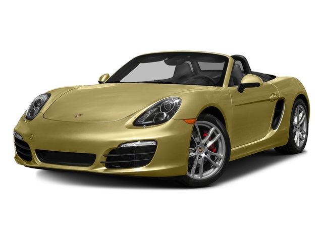 Lime Gold Metallic 2016 Porsche Boxster Pictures Boxster Roadster 2D GTS H6 photos front view