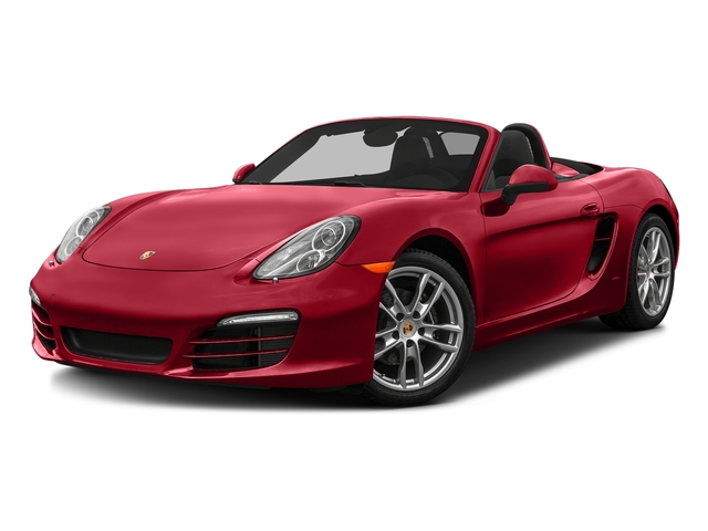 Carmine Red 2016 Porsche Boxster Pictures Boxster Roadster 2D H6 photos front view
