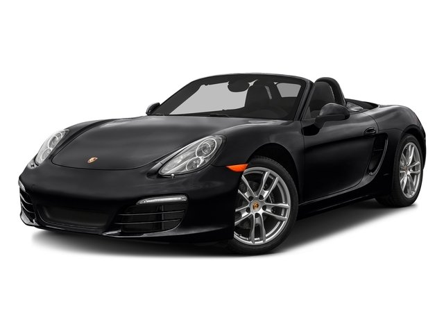 Black 2016 Porsche Boxster Pictures Boxster Roadster 2D H6 photos front view
