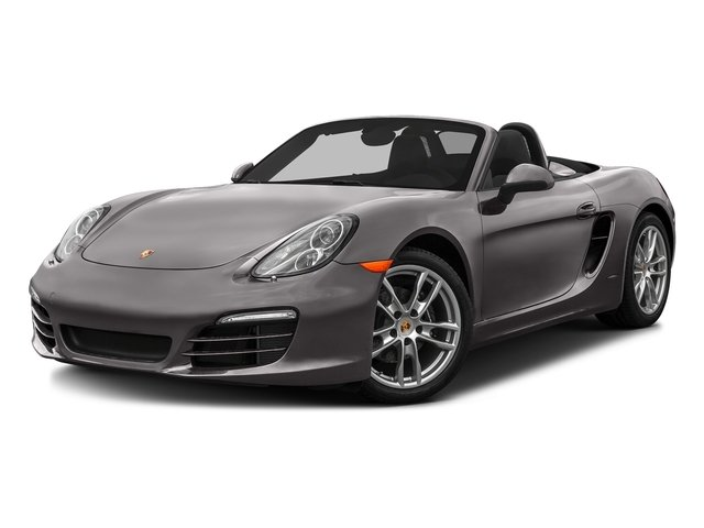 Agate Gray Metallic 2016 Porsche Boxster Pictures Boxster Roadster 2D H6 photos front view