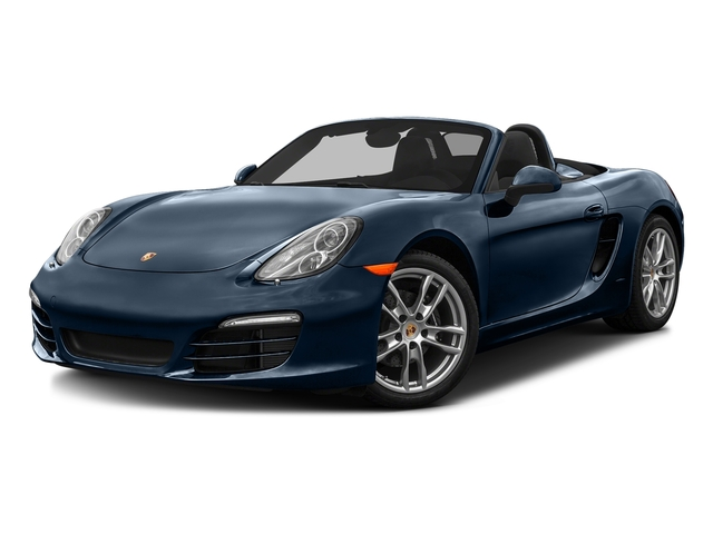 Dark Blue Metallic 2016 Porsche Boxster Pictures Boxster Roadster 2D H6 photos front view