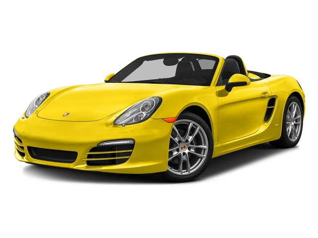 Racing Yellow 2016 Porsche Boxster Pictures Boxster Roadster 2D H6 photos front view