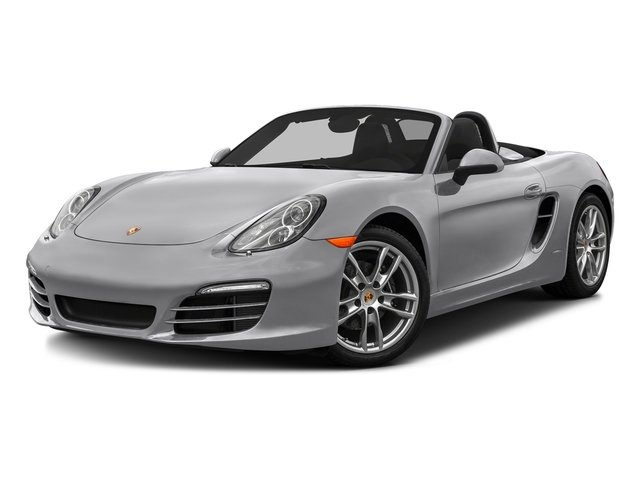 GT Silver Metallic 2016 Porsche Boxster Pictures Boxster Roadster 2D H6 photos front view