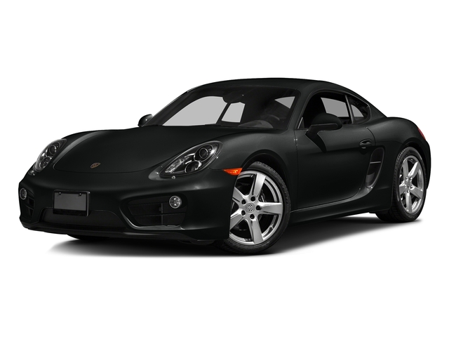 Jet Black Metallic 2016 Porsche Cayman Pictures Cayman Coupe 2D H6 photos front view