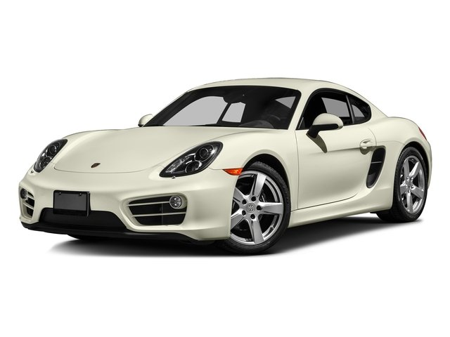 Carrara White Metallic 2016 Porsche Cayman Pictures Cayman Coupe 2D H6 photos front view