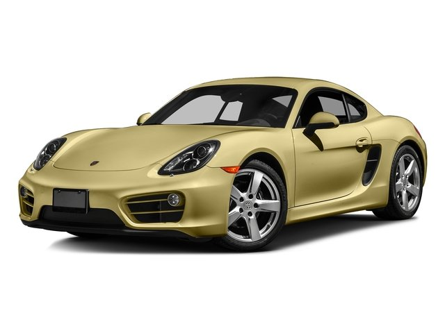 Lime Gold Metallic 2016 Porsche Cayman Pictures Cayman Coupe 2D H6 photos front view