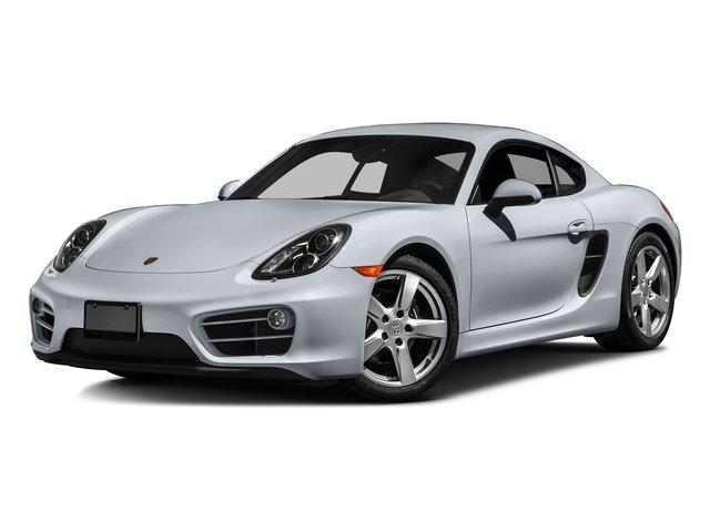 Rhodium Silver Metallic 2016 Porsche Cayman Pictures Cayman Coupe 2D H6 photos front view