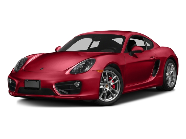 Carmine Red 2016 Porsche Cayman Pictures Cayman Coupe 2D S H6 photos front view