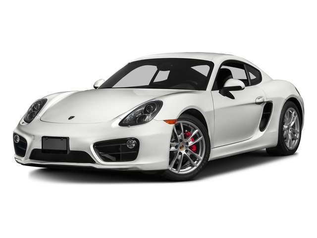 White 2016 Porsche Cayman Pictures Cayman Coupe 2D S H6 photos front view