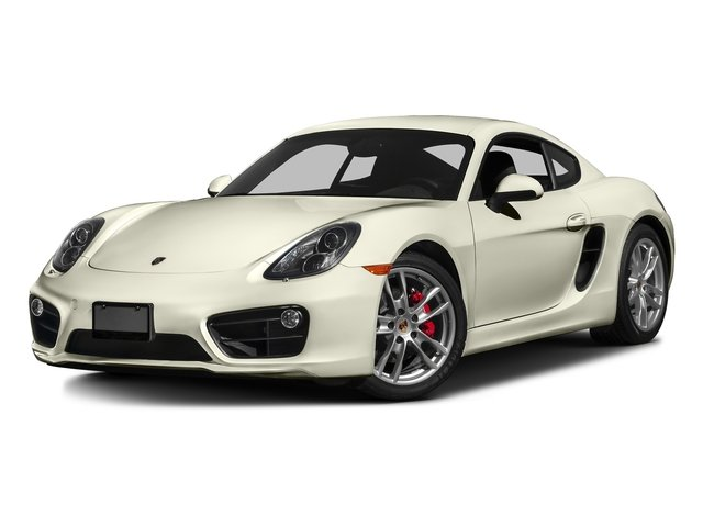 Carrara White Metallic 2016 Porsche Cayman Pictures Cayman Coupe 2D S H6 photos front view