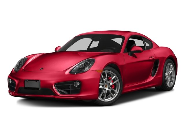 Guards Red 2016 Porsche Cayman Pictures Cayman Coupe 2D S H6 photos front view