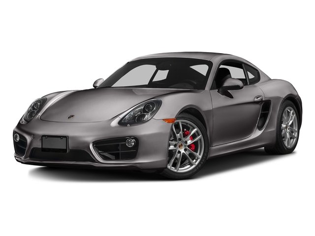 Agate Gray Metallic 2016 Porsche Cayman Pictures Cayman Coupe 2D S H6 photos front view