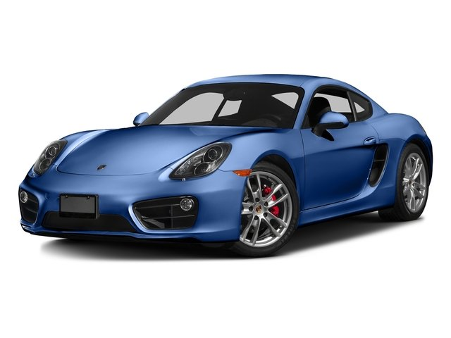 Sapphire Blue Metallic 2016 Porsche Cayman Pictures Cayman Coupe 2D S H6 photos front view