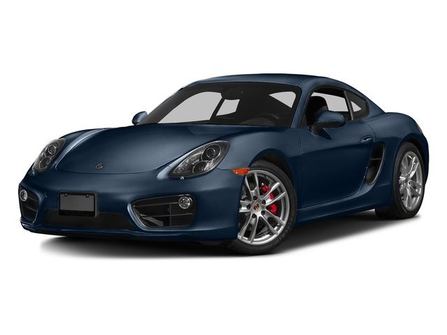 Dark Blue Metallic 2016 Porsche Cayman Pictures Cayman Coupe 2D S H6 photos front view