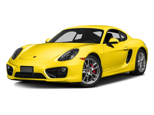 Racing Yellow 2016 Porsche Cayman Pictures Cayman Coupe 2D S H6 photos front view