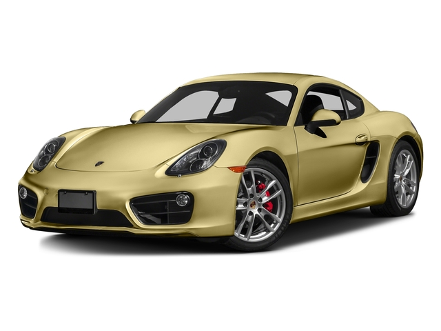 Lime Gold Metallic 2016 Porsche Cayman Pictures Cayman Coupe 2D S H6 photos front view