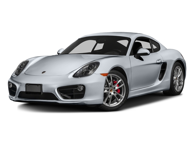 Rhodium Silver Metallic 2016 Porsche Cayman Pictures Cayman Coupe 2D S H6 photos front view
