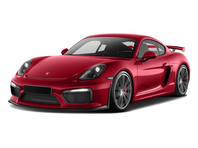 Carmine Red 2016 Porsche Cayman Pictures Cayman Coupe 2D GT4 H6 photos front view