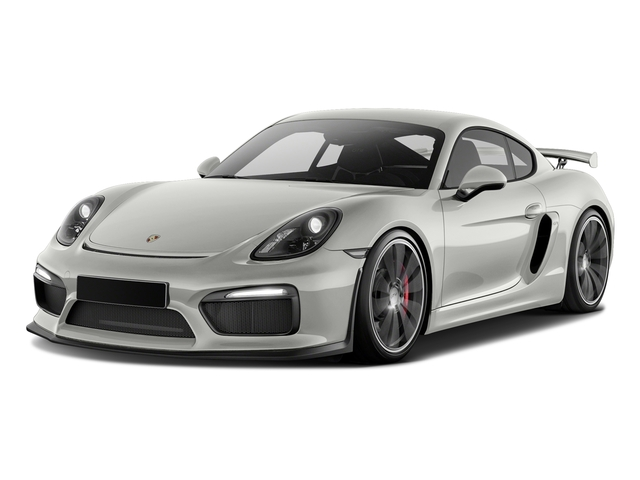 White 2016 Porsche Cayman Pictures Cayman Coupe 2D GT4 H6 photos front view