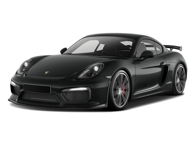 Jet Black Metallic 2016 Porsche Cayman Pictures Cayman Coupe 2D GT4 H6 photos front view